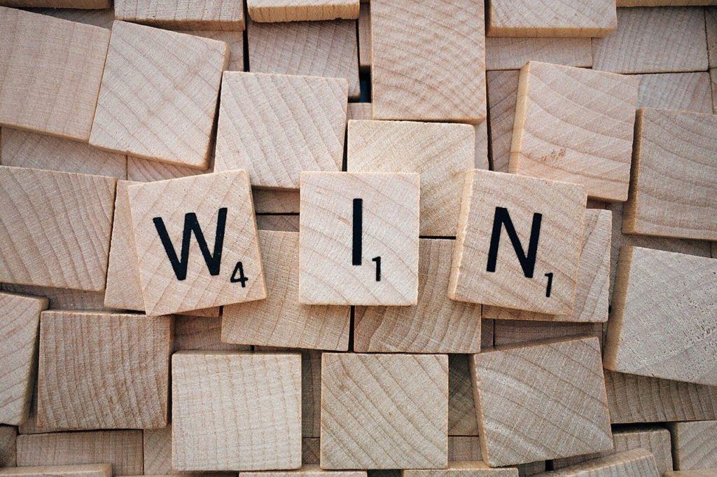 win, word, scrabble